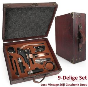 Luxe Kurkentrekker Set in koffer