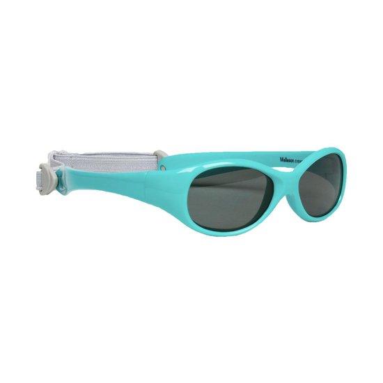 baby zonnebril aqua groen