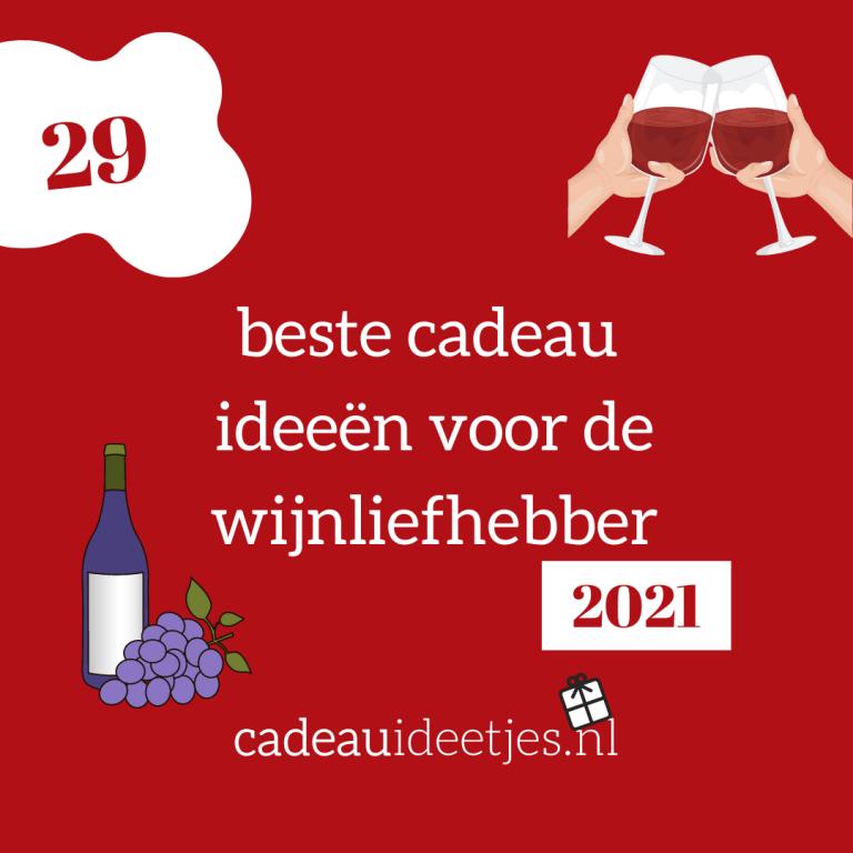 cadeau wijnliefhebber 2021