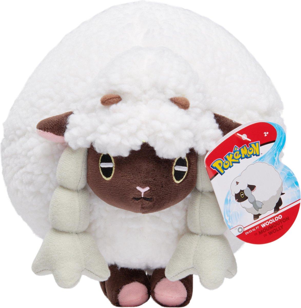 Pokemon Pluche knuffel Wooloo 20 cm