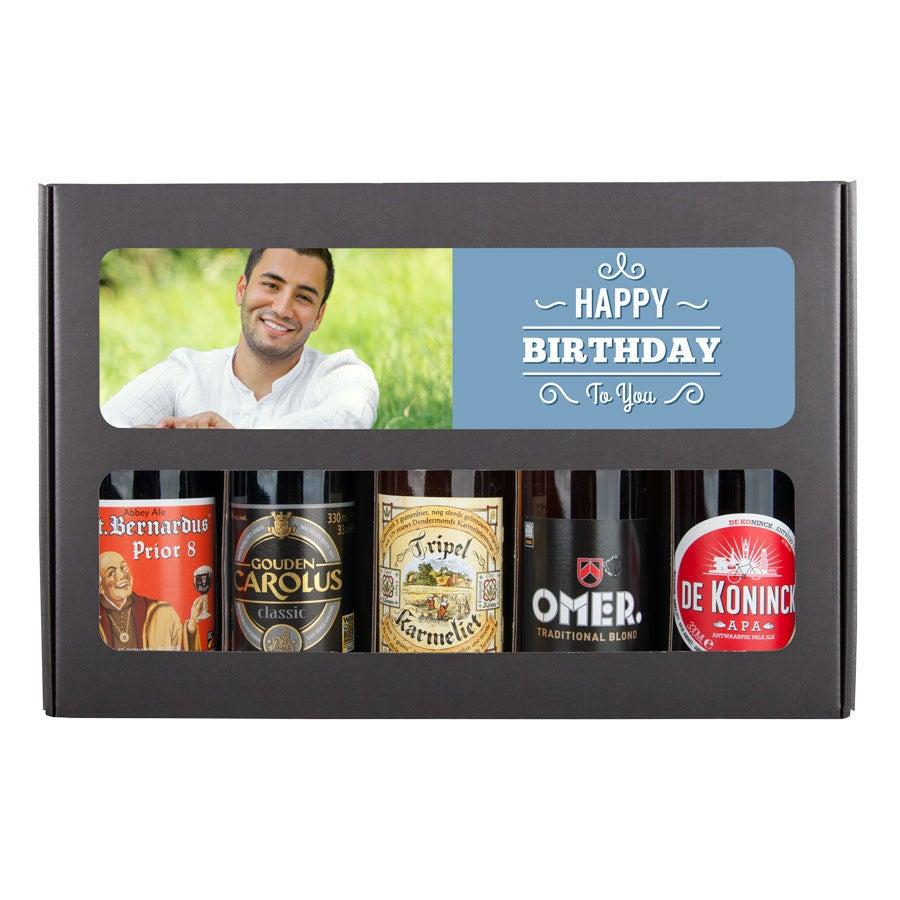 bierpakket met foto