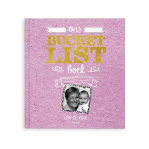bucketlist boek voor oma